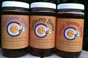 Georgia Honey Farm Three pack sampler