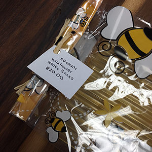 Wildfower honey sticks